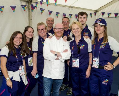 Gary Maclean and Volunteers by SNS Group